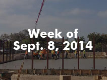 Newcomb Bldg-G SOG Pour 9/08/2014