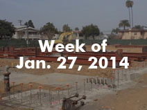 Steel Framing Begins 1/27/2014