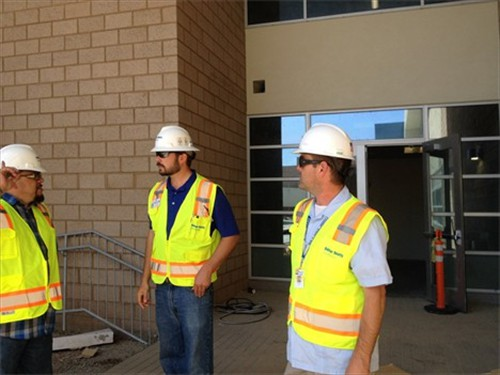 Newcomb Academy job site tour