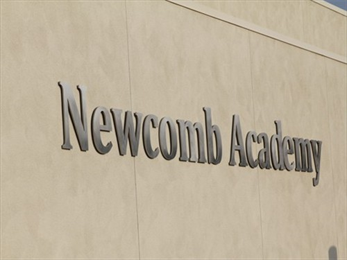 Newcomb Academy signage