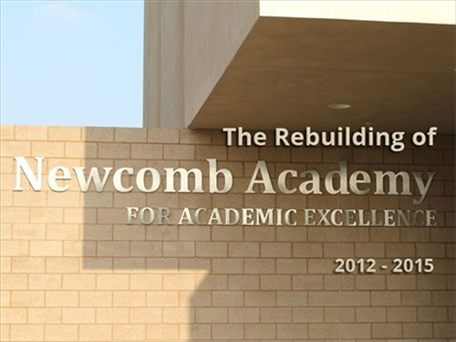 Newcomb Academy title page
