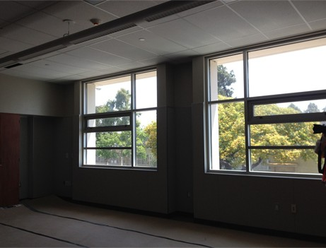interior classroom windows