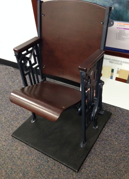 auditorium chair replacement