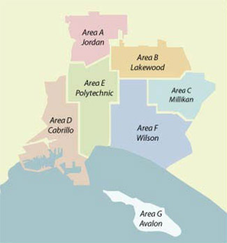 Long Beach Unified School District Map
