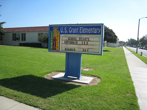 US Grant Elementary School in Long Beach