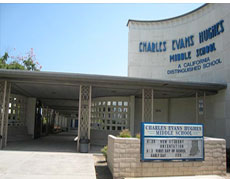 Hughes Middle School in Long Beach, CA