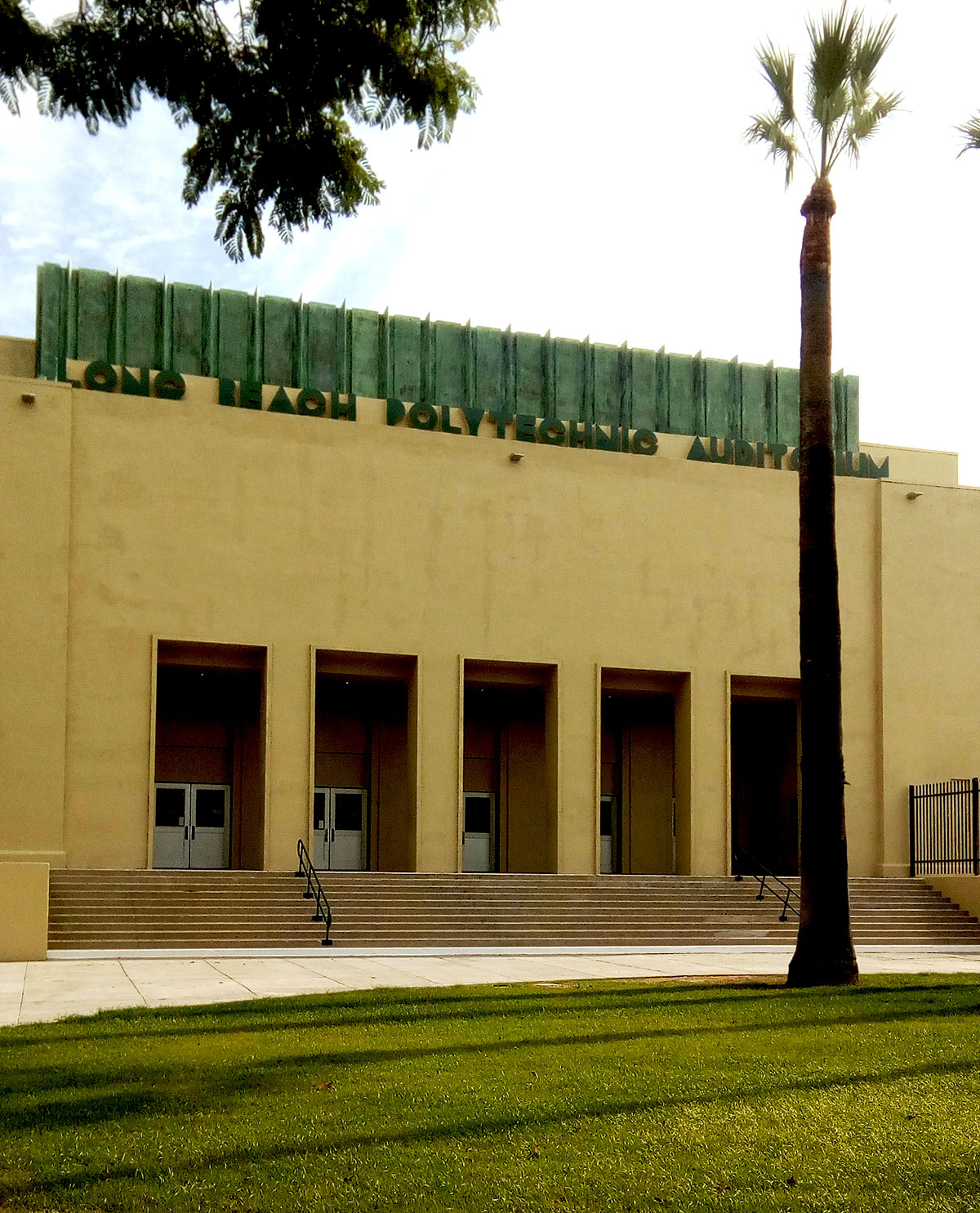 Polytechnic High in Long Beach's new auditorium