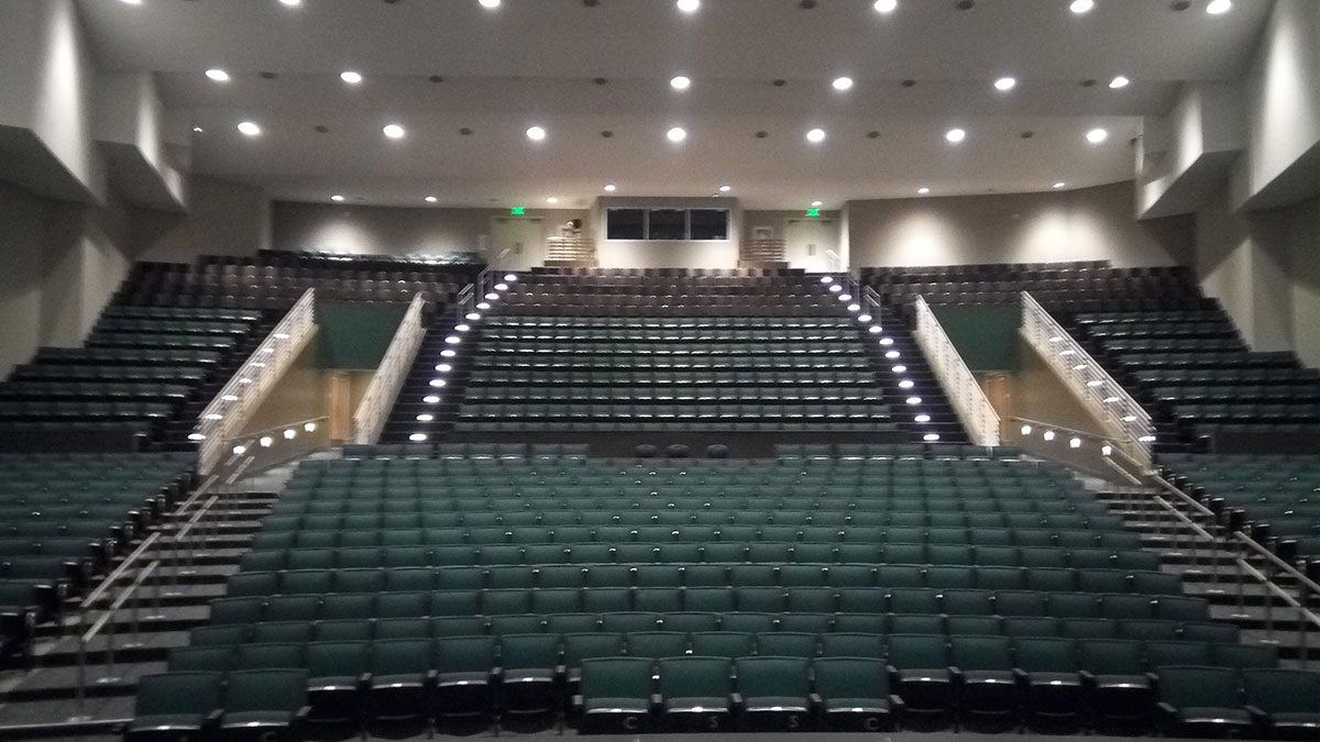 Polytechnic-auditorium in Long Beach