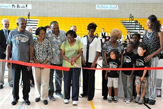 McBride High School ribbon cutting ceremony