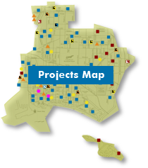 click Projects Map to project page
