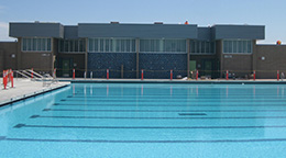 Pool at Cabrillo High School