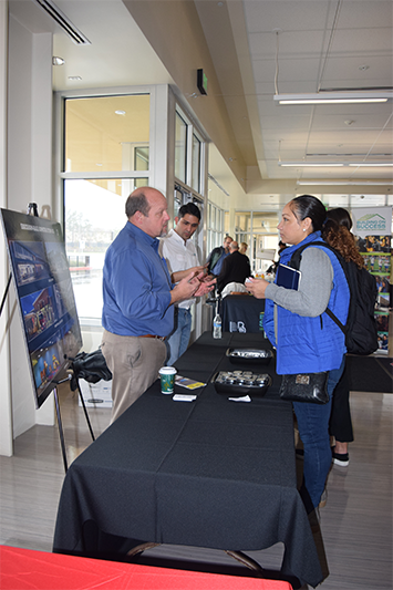 Vendor at LBUSD/LBCC sponsored contractor fair